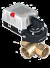 3-х ходовой кран Dn15 Kvs1,0 с приводом 225-230T-05